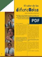 Entrevista El Valor de La Diferencias
