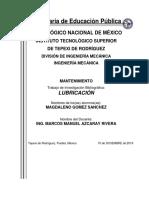 MANTENIMIENTO INVESTIGACION UNIDAD 3