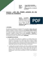 CONTESTACION DE ALIMENTOS -MARTIN FERREÑAFE