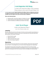 Listen and Appraise Unit Song Livin' On A Prayer (2).pdf