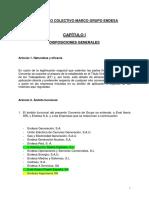 Aportaciones CCOO. TEXTO CONVENIO CAP 1-7
