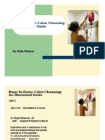 Basic In-Home Colon Cleansing — An Illustrated Guide 0962296538