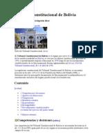 Tribunal Constitucional de Bolivia