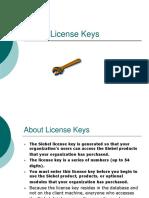 Siebel License Keys