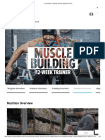 Kris Gethin Muscle Building - Nutrition Overview