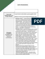 Materiał Edukacyjny- Karta Programowa