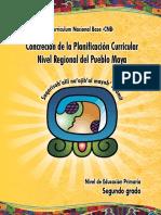 2º grado Pueblo Maya 2017