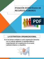 Planificación estratégica de recursos humanos1
