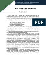 LA PARABOLA DE LAS 10 VIRGENES EN ESPAÑOL