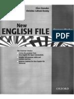 NEF Grammar Checker for Advanced
