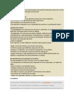 ponencia y debate