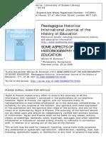 BRICKMAN (1977) - Some aspects historiography Soviet education