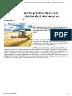 ADM si Cargill, doi din primii trei traderi de cereale