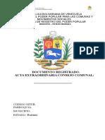 ACTA EXTRAOR. ( MODELO).doc