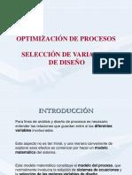 Fundamentos de Optimización de Procesos