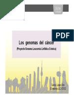 Los Genomas Del Cancer
