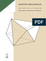 2006 Meillassoux Quentin Despues-de-La-Finitud-Introduccion