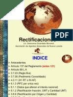 RECTIFICACION OCTUBRE  2015
