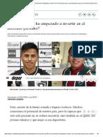 Selección Peruana Sub-23_ ¿por qué Brasil ha empezado a invertir en el mercado peruano_ caso Alexander Lecaros y Fernando Pacheco_ Descentralizado _ Depor