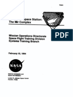 Mir Space Station Training Manual