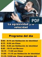 Etica y prevencion de conflicto II La agresividad y la velocidad.pptx