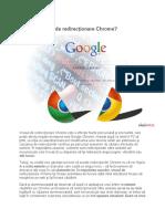 Ce este virusul de redirectionare Chrome