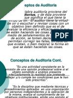 Resumen de auditoria en informática - Presentación.