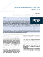 CONTROL DE DOS PISTONES MEDIANTE CASCADA NEUMÁTICA