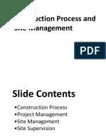 construction site management.ppt