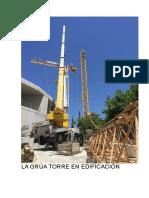 montaje grua torre