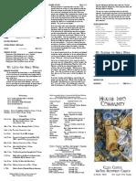 Essex Center UMC Bulletin 1/12/2020