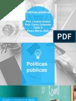 Políticas públicas