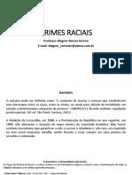 PALESTRA CRIMES RACIAIS