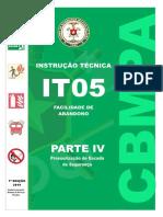 It-05-Parte-IV Pressurização de Escada de Segurança