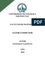 estudio de mercado SATOR COMPUTER