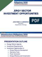 DOE Infrastructure Philippines 2010 Summit Presentation