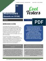 Curso de Testing Manual basado en ISTQB- 2019 Octubre