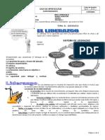 GUIA No. 1 EL LIDERAZGO -SABERES PREVIOS