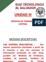 MEDIDAS DE TENDENCIA CENTRAL .pptx
