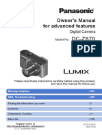 DC ZS70 Panasonic Manual