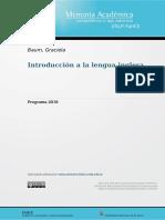 Introducción a la lengua inglesa
