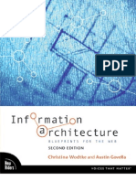 Information Architecture, Blueprints for the Web 2nd Edition (2009)