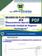 Plan operativo Yurimaguas