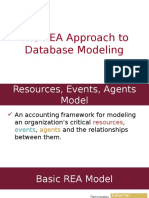 The REA Approach to Database Modeling