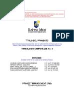 PLANILLA TRABAJO DE CAMPO No. III (07 julio 2019) trabajo final