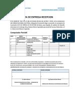 ACTA DE ENTREGA RECEPCION edwin