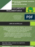 LIBROS Y DOCUMENTOS REGLAMENTARIOS.pptx