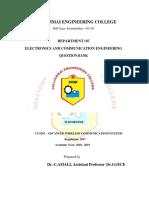 CU5291-Advanced Wireless Communications System