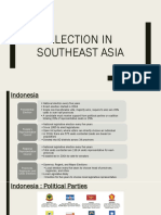 Election in Southeast Asia