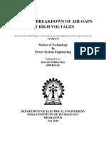 Analysis in Breakdown of Air 2